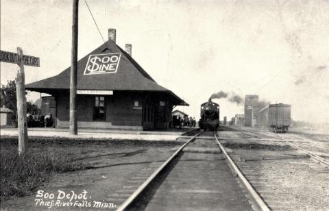 Soo Line Railroad Depot, Thief River Falls, Minnesota