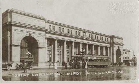 Great Northern Depot, Minneapolis, Minnesota